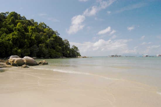 Penang National Park beach