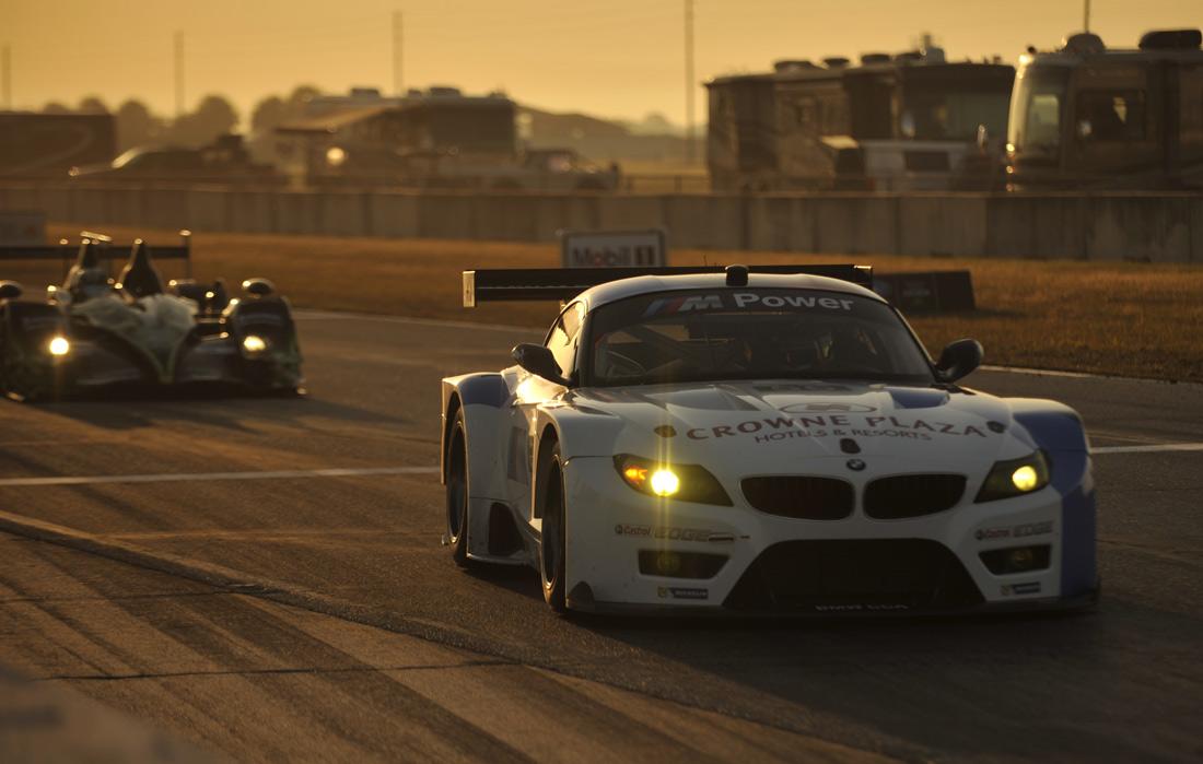 12 Hours of Sebring BMW Z4 funny car