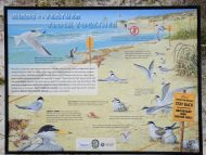 American Bird Conservancy Florida beach sign