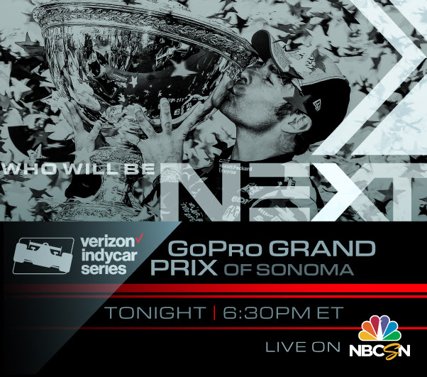 IndyCar finale will be tonight