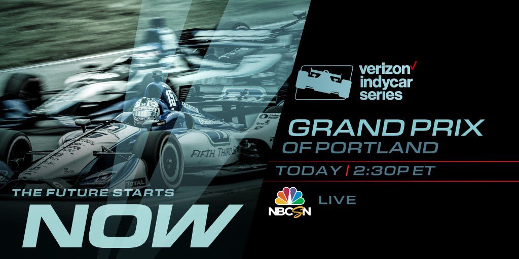 Portland Grand Prix today on NBC Sports Network