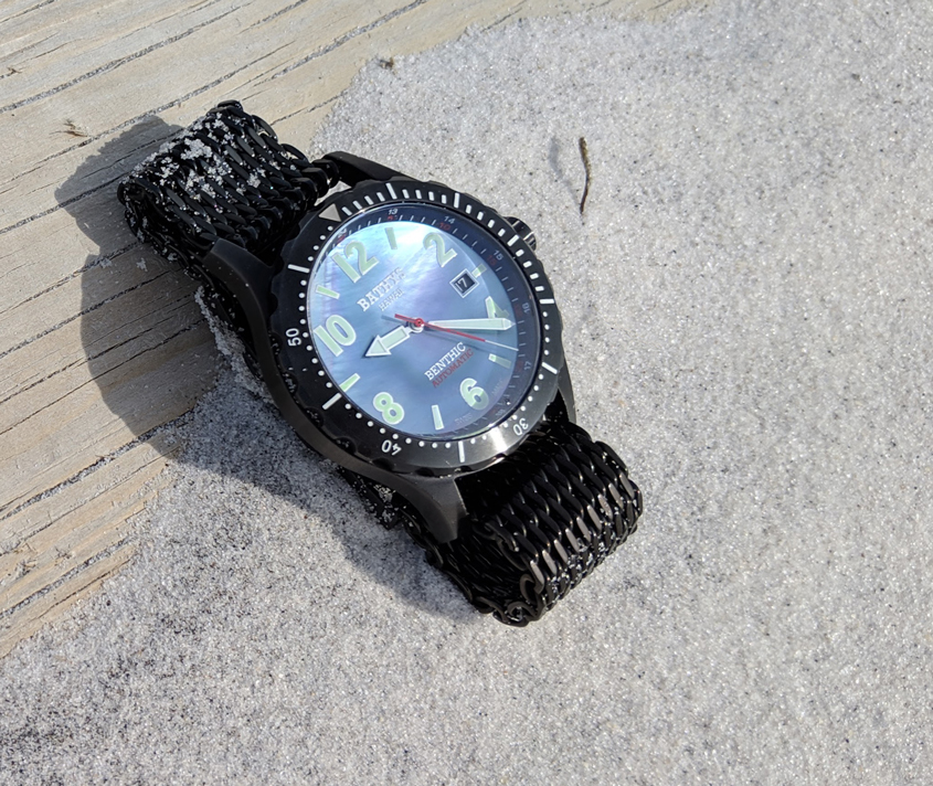 Bathys Benthic automatic watch black
