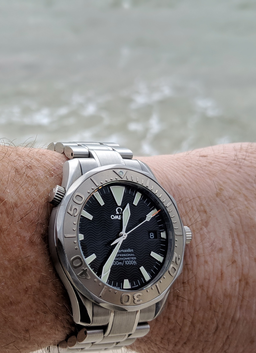 Omega Seamaster 2230.50 non-America's Cup wristwatch for sale