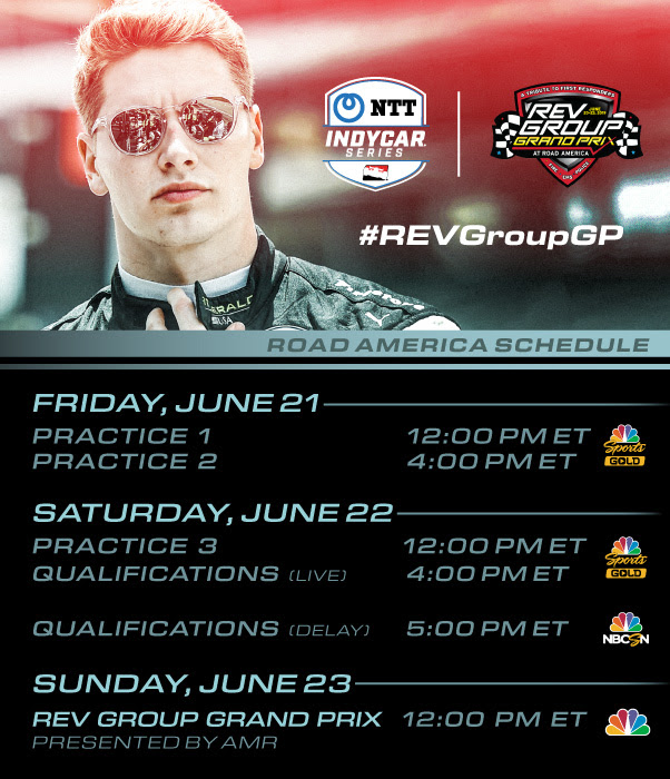 Watch IndyCar race at Road America
