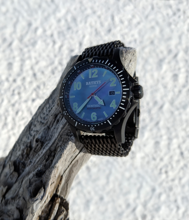 Bathys Benthic watch