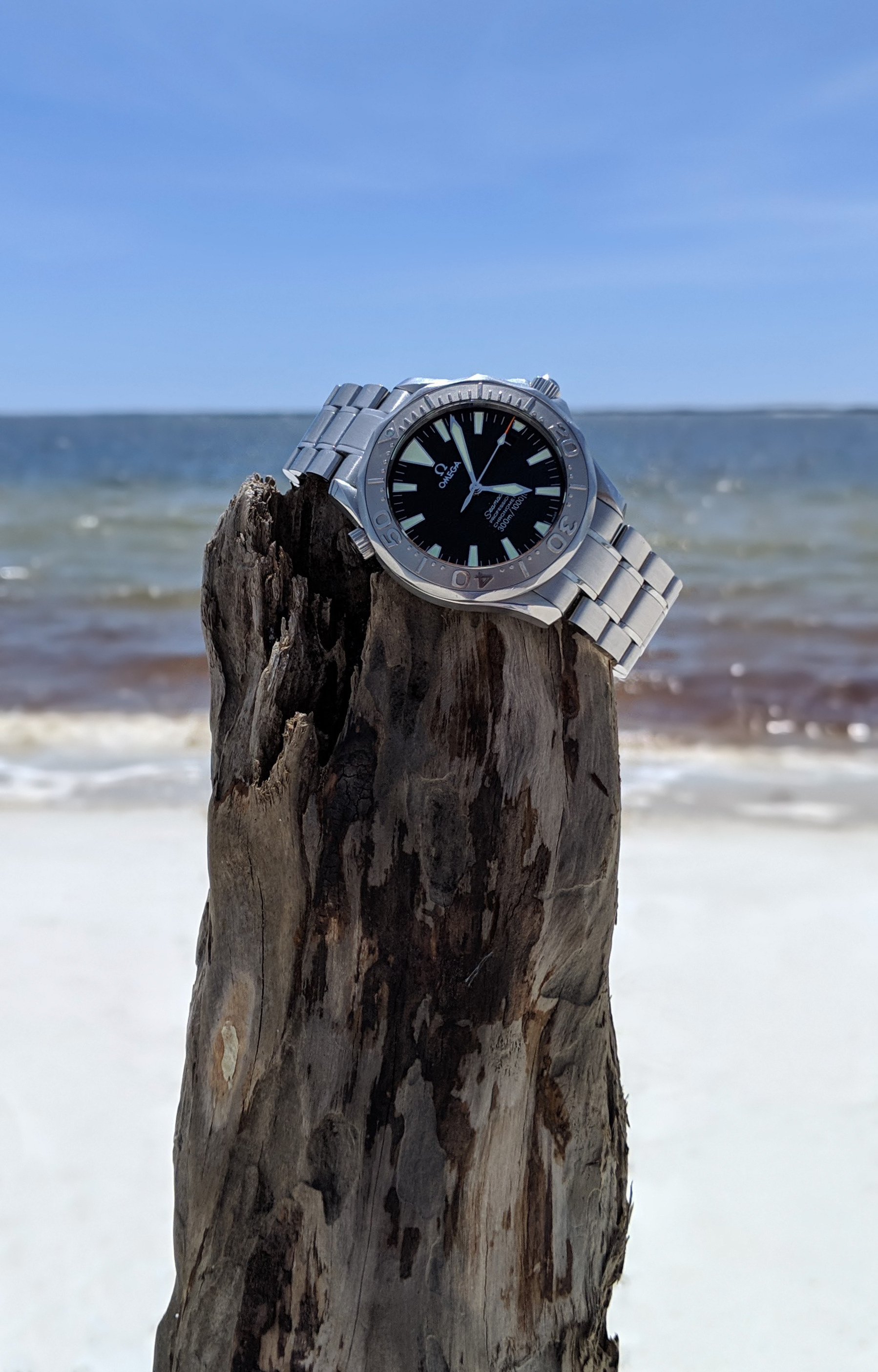 Seamaster 2230.50 Florida beach