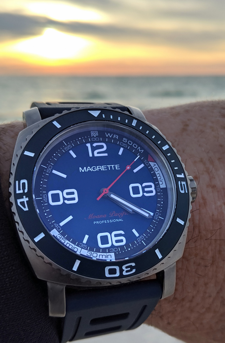 Magrette Moana pacific Professional - Kara edition watch